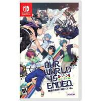 Our World Is Ended Standard Nintendo Switch Brand New