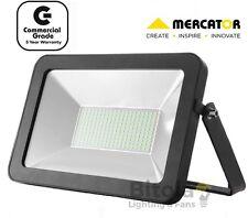 Mercator Aspect Premium 100w LED DIY Floodlight Commercial Grade Black Ip65