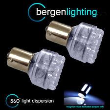 382 1156 BA15S P21W 245 Xenon Bianco 24 Dome LED posteriore nebbia LAMPADINE rf200501