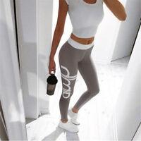 Women Fitness Yoga Leggings Running Gym Athletic Sport High Waist Pants Trousers