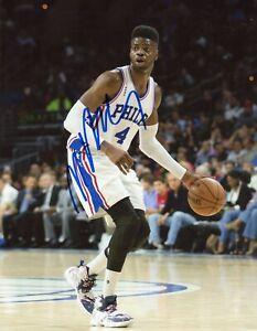 Nerlens Noel Signed Autograph Auto 8x10 Photo COA Philadelphia 76ers 3