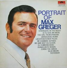MAX GREGER - PORTRAIT OF MAX GREGER  - LP