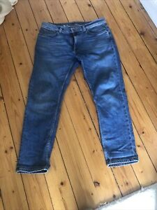 Nudie Jeans: Lean Dean: Slim Tapered Mens Jeans -  W34 L30 (34/30)