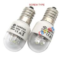 Ampoules LED-E14 pour machine coudre domestique 0,5W 220 Volts Type de vis 2PCS