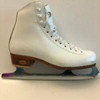 Riedell Model 27 Figure Skates John Wilson Sheffield England Excel Blades Size 3