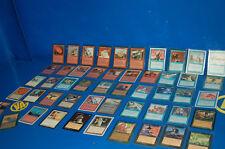 Lot Cartes 50 Cartes Magic The Collecte - Tous Différentes + Sacs Protection