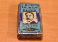 anciennes lames de rasoir Gillette vintage neuves