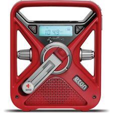 Eton Weather Radio Hand Crank Solar Charging Headphone Output
