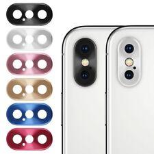 Cámara Trasera Lente Metal Protector Cubierta Anillo para iPhone X XR XS XS Max