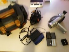 AS IS!!! Canon Optura 20 Mini DV Camcorder w/Charger Batteries Bag Free Shipping
