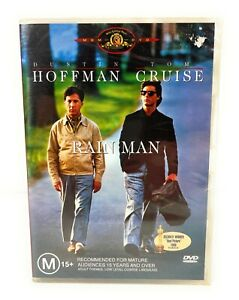 Rain Man (DVD, 1988) Dustin Hoffman Tom Cruise New & Sealed Region 4 Free Post