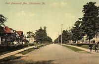 C.1910 East Greenwood Ave., Lansdowne, Pa. Vintage Postcard P137