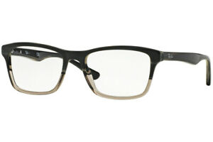 New Authentic Ray Ban RB5279 5540 Grey Horn Optical Eyeglasses Frame 55-18-145