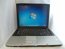 "Gateway M460 15"" Notebook 160GB 2GB 1.7Ghz Win 7 Tested Works AS IS"