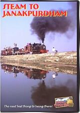 STEAM TO JANAKPURDHAM NEPAL RAILWAY INDIA HIGHBALL PRODUCTIONS NEW DVD VIDEO