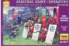 ZVEZDA 8017 1/72 Samurai Warriors Infantry XVI-XVII A.D.