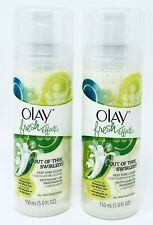 2-Pack Olay Fresh Effects Out Of This Swirled Deep Pore Clean Exfoliating Scrub