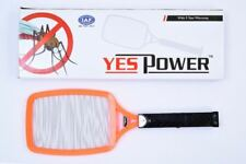 YES POWER RACKET ELECTRONIC MOSQUITO FLY SWATTER INSECTS ELECTRIC BAT HANDHELD