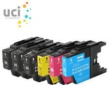 6 X Ink Cartridges fits Brother LC1280 MFC J5910DW J6710DW J6910DW J825DW J925DW