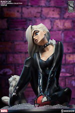 SIDESHOW EXCLUSIVE MARVEL BLACK CAT STATUE J SCOTT CAMPBELL spiderman