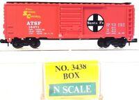 N Model Power 3438 40' Box Car ATSF #16471