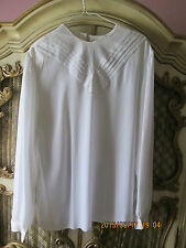 Gailord White Blouse with design SZ 16