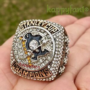 2016 2017 Pittsburgh Penguins Championship Ring Crosby Stanley Cup Champs 7-14