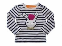 NWT Girls Gymboree Charm Class bunny rabbit long sleeve shirt 12 18 24 months
