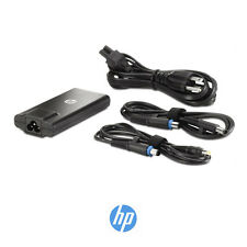 Genuine HP 90W Slim Travel AC Adapter & cables 616072-001 BT798AA - GRADE A+