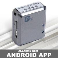 SENSORE ALLARME CON MAGNETICO APP GSM ANDROID APPLICAZIONE GOOGLE TRACKER zf