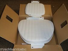 CUSHION SET WHITE HELM CHAIR MOELLER 114 CU10712D FITS 2071 SEAT BOATINGMALL