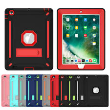 For Apple iPad 2 3 4 gen 9.7'' Shockproof Hybrid Silicone Armor Stand Case Cover