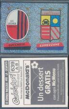 FIGURINA CALCIATORI PANINI 2000/01-SCUDETTO LUCCHESE/LUMEZZANE-N.639-NUOVA