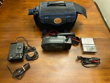 Jvc Videomovie Camera Gr-Ax30 compact Vhs~Battery & Charger Case Accessories