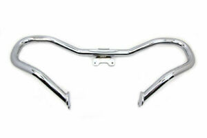 Chrome Chopped Front Engine Guard for Harley Davidson by V-Twin