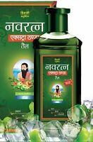 Navratna Ayurvedic Oil Extra Thanda, 300 ml