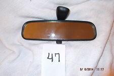 96-11 Kia RIO Hyundai ACCENT ELANTRA Tiburon REAR VIEW MIRROR Nice 010082 OEM !!