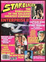 Starblazer 3 Magazine Star Trek IV 4 art Indiana Jones James Bond 007 Dune Movie