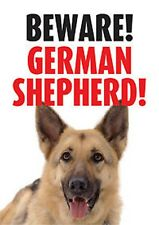 Warnschild Beware Deutscher Schäferhund German Shepherd