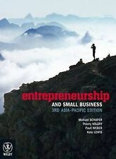 Entrepreneurship and Small Business by Thierry Volery, Michael Schaper, Paull...