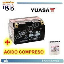 BATTERIA YUASA CON ACIDO PER SYM VS 125 2006 2007 2008 MOTO SCOOTER