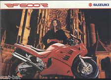 Genuine Suzuki-UK RF600R (1993) concessionaria vendita BROCHURE RF 600 R RP GN76 RF-R