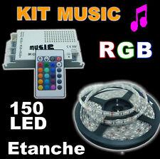 817B# Strip LED 3528 120 LED//m 600 LED 5m bleu en version non étanche ou étanche