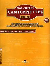 FASCICULE BOOKLET TYPE H PIZZA AU FEU DE BOIS N° 51