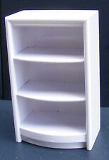 1:12 Scale White Painted Shop Display Unit Dolls House Miniature Furniture D1W