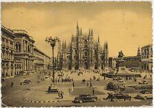 MILANO - PIAZZA DEL DUOMO - AUTO 1958
