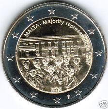 manueduc  2 EUROS  MALTA 2012  MAYORÍA   CON  CECA HOLANDESA