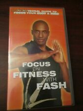 Focus on Fitness with Fash   VHS Video (NEW)