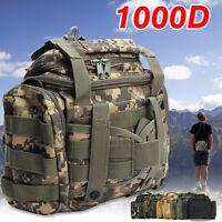 Fly Fishing Tackle Bag Storage Waist Shoulder Waterproof Saltwater Tactical Hunt