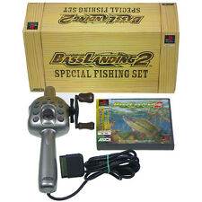 BASS LANDING 2 SPECIAL FISHING SET PS1 Sony Japan Import PlayStation PSX Complet